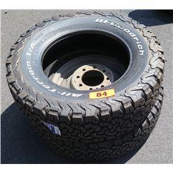 Qty 2 BF Goodrich All Terrain Baja Champion Tires LT245/70R17