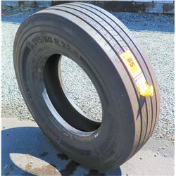 Qty 1 Continental Coach Tire HA3315/80R22.5 - New