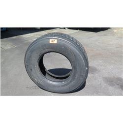 Qty 1 BF Gladiator QR55ST All-Steel Radial Tubeless Tire - Recap