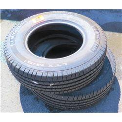 Qty 2 Michelin Tires LT245/75R17