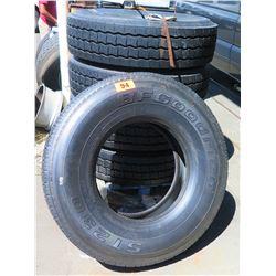 Qty 1 BF Goodrich Radial Tire ST230315/80R22.5 - Recap