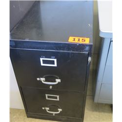 2-Drawer Vertical File Cabinet w/ Key 28 x 18 x 28 H