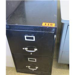 2-Drawer Vertical File Cabinet w/ Key 28 x 18 x 28 H