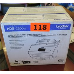 Brother ADS-2800W Wireless Network Scanner - New in Box