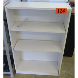 Wooden Shelving Unit 24.25 x 9.25 x 35.5 H
