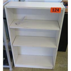 Wooden Shelving Unit 24.25 x 9.25 x 35.5 H