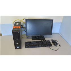Dell Optiplex 380 Desktop Computer w/ Monitor, Keyboard & Mouse