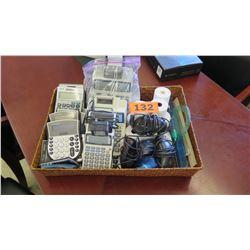 Misc. Calculators, Receipt Paper, Mice, Rulers