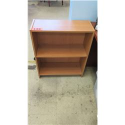 Small Wooden Bookcase 24.75 x 9.5 x 29.75 H