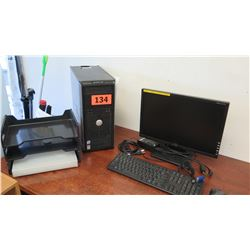 Dell Optiplex 330 Desktop Computer w/ Monitor, Keyboard & Mouse