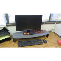 Dell Monitor, Keyboard, Mouse, Monitor Stand