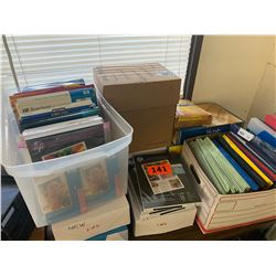 Misc. Office Supplies, File Folders, Security Envelopes, Photo Paper