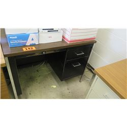 Small 2-Drawer Desk 39.5 x 24 x 29 H