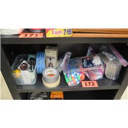 Misc. Supplies: Highlighters, Rubber Stamps, Tape, etc.