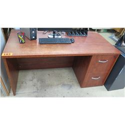 Wooden Desk w/ 2 Drawers (shows some wear) 60 x 30 x 28.75 H