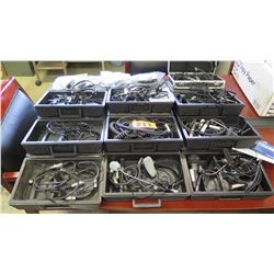 Large Lot of Microphones, Microphone Cables, etc.