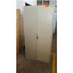 Tall Metal Storage Cabinet