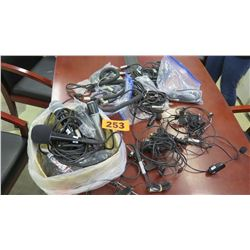 Misc. Microphones & Cables