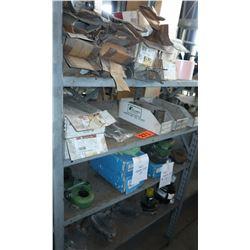 Bus Parts - Contents of Shelves: Slack Adjuster, Misc. Hardware, etc.