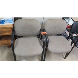 Qty 2 Office Reception Chairs