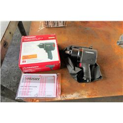 "Husky 3/4"" Impact Wrench in Box (appears unused)"
