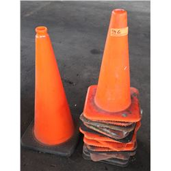 Approx. 15 Safety Cones