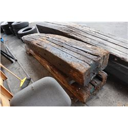 Wooden Vehicle Ramps (approx. 10' long)