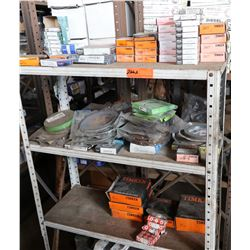 Bus Parts - Contents of Shelves: Bearings, etc.
