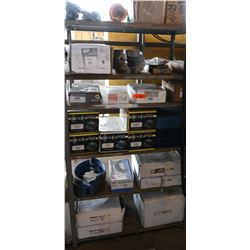 Bus Parts - Contents of Shelves: Misc Parts, Calipers, Brake Rotors, etc.