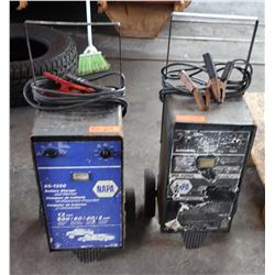 Qty 2 Napa Battery Chargers (1 working, 1 being included for parts only)