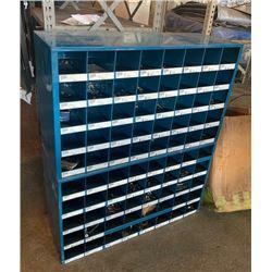 Blue Metal Tool/Hardware Organizer
