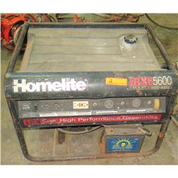 Homelite LRXE 5600 Portable Generator