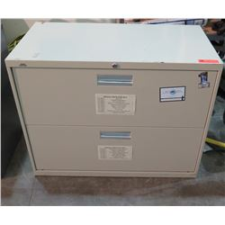 2-Drawer Lateral File Cabinet (no keys)