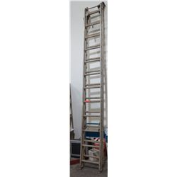 Metal Extension Ladder, 24 Foot