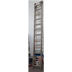 Metal Extension Ladder, 24 Foot