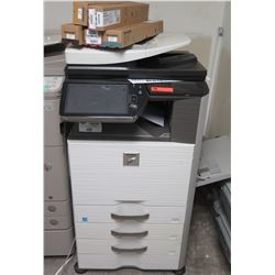 Sharp MX-2610N Color Copy Machine Tested Working (See Video)