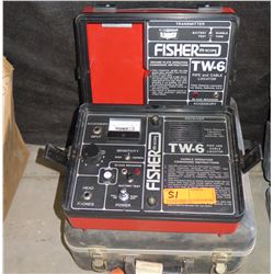 Fisher TW-6 Pipe and Cable Locator