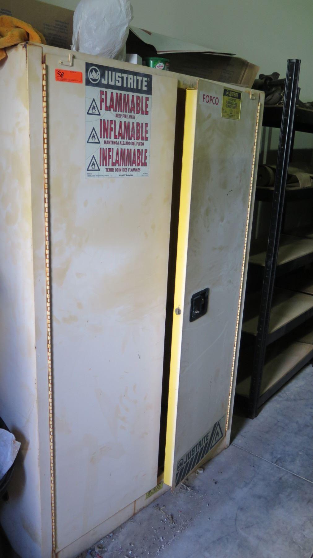 Justrite Sure-Grip EX Flammable Liquid Storage Cabinet ...