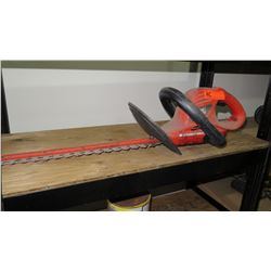 Black and Decker HS1010 20-Inch Hedge Trimmer