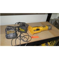 Dewalt DC410 Cordless Cutoff Tool & 2 Chargers (no battery)