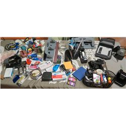 Large Lot of Misc. Office Supplies: Scissors, Tape, etc.