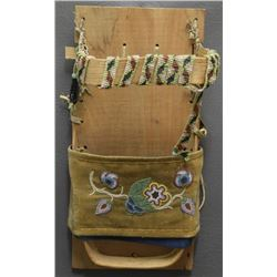CHIPPEWA INDIAN DOLL CRADLE