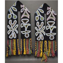 WOODLANDS INDIAN BEADED SASHES