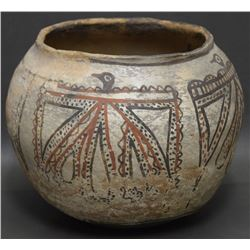 ZUNI INDIAN POTTERY OLLA