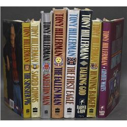 EIGHT TONY HILLERMAN BOOKS