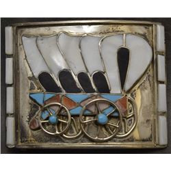 ZUNI  INDIAN BUCKLE (ZUNIE)