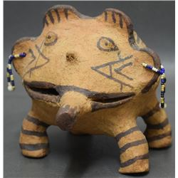 MOHAVE INDIAN POTTERY FROG (NORGE)