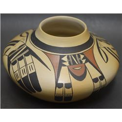 HOPI INDIAN POTTERY VASE (ABEITA)