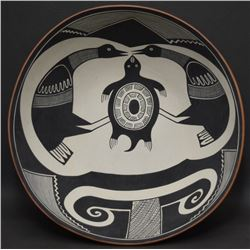 JEMEZ INDIAN POTTERY BOWL