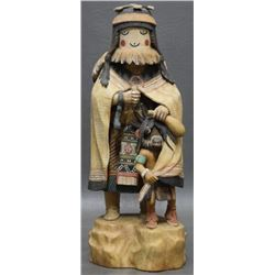 HOPI INDIAN KACHINA ( HONGEVA)